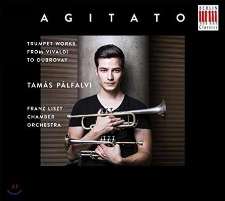 Tamas Palfalvy 아지타토 - 비발디 / 헨델 / 텔레만 / 리게티 / 뒤브로베: 트럼펫으로 듣는 다채로운 작품들 (Agitato - Trumpet Works from Vivaldi to Dubrovay) 타마슈 팔팔비, 프란츠 리스트 체임버 오케스트라