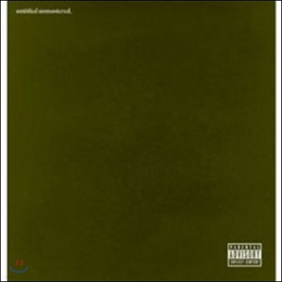Kendrick Lamar (켄드릭 라마) - untitled unmastered. [LP]
