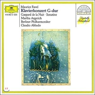 Martha Argerich / Claudio Abbado 라벨 : 피아노 협주곡, 밤의 가스파르 - 아르헤리치, 아바도