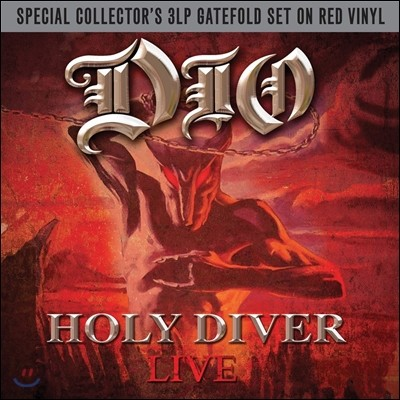 Dio (디오) - Holy Diver: Live [Special Collector's 3LP]
