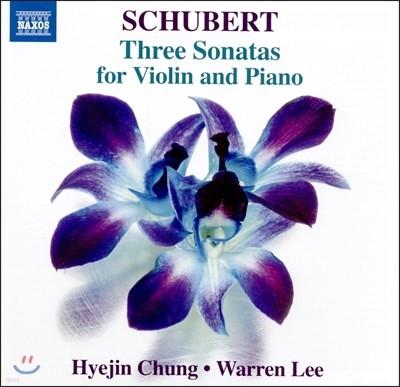 정혜진 (Hyejin Chung) - 슈베르트: 바이올린과 피아노를 위한 소나타 Op.137 1-3번 (Schubert: Three Sonatas for Violin and Piano D.384, 385, 408)