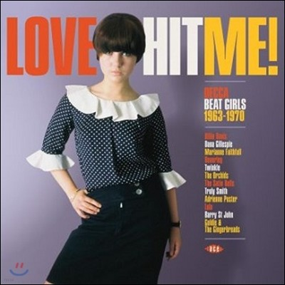 1960년대 영국의 걸-팝 뮤직 (Love Hit Me! Decca Beat Girls 1963-1970) [LP]