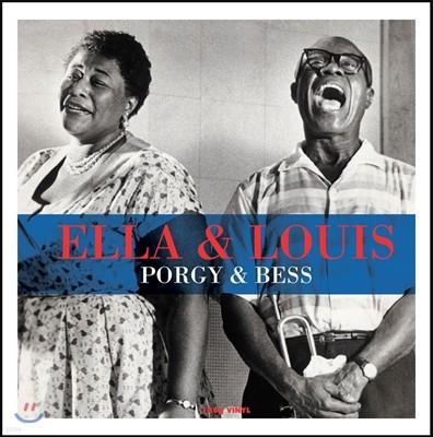 Ella Fitzgerald & Louis Armstrong (엘라 피츠제랄드, 루이 암스트롱) - Ella & Louis: Porgy & Bess (엘라 앤 루이: 포기와 베스) [LP]