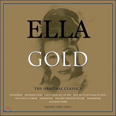 Ella Fitzgerald (엘라 피츠제랄드) - Ella Gold (엘라 골드) [2LP]