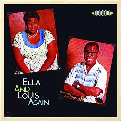 Ella Fitzgerald & Louis Armstrong (엘라 피츠제랄드, 루이 암스트롱) - Ella And Louis Again [LP]