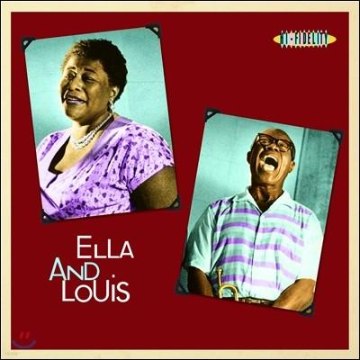 Ella Fitzgerald & Louis Armstrong (엘라 피츠제랄드, 루이 암스트롱) - Ella And Louis (엘라 앤 루이스) [LP]