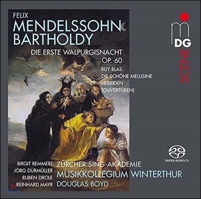 Douglas Boyd 멘델스존: 칸타타 '발푸르기스의 첫날밤', 뤼 블라, 아름다운 멜루지네 서곡 (Mendelssohn: Walpurgisnacht Op.60, Ruy Blas, Die Schone Melusine, Hebriden Overtures)