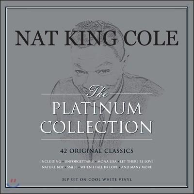 Nat King Cole (냇 킹 콜) - The Platinum Collection: 42 Original Classics [쿨 화이트 컬러 3LP]