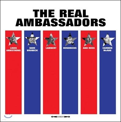 Louis Armstrong / Dave Brubeck (루이 암스트롱, 데이브 브루벡) - The Real Ambassadors [LP]