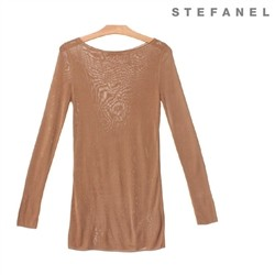 스테파넬/Soft Long Knit (S52KP040)