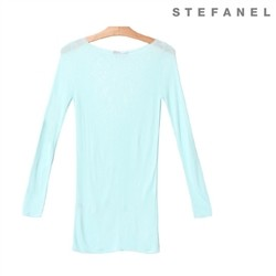 스테파넬/Soft Long Knit (S52KP042)
