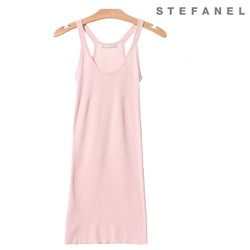 스테파넬/Cotton Knit Dress (S52KP079)