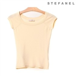 스테파넬/Short Sleeved Knit (S52KP126)
