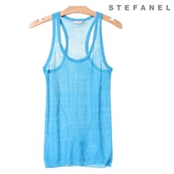 Casual Sleeveless Shot Top (S52TT049)