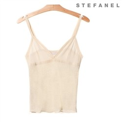스테파넬/Stylish Linen Top (S52KP211)