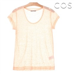 코스/Ink Spray Simple T-shirt (C62AS001)