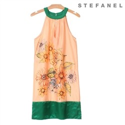 스테파넬/Halterneck Charming Dress (S52OP017)