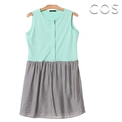 Sweety Sleeveless Dress (C61OP005)