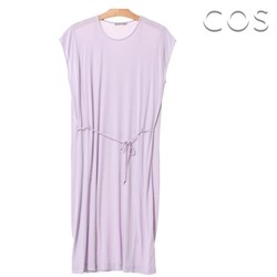 코스/Drawstring Natural Dress (C62OP001)