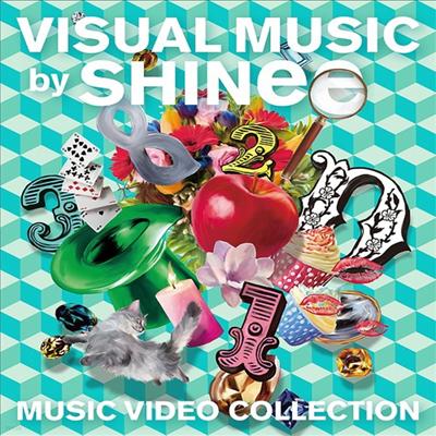 샤이니 (SHINee) - Visual Music By Shinee -Music Video Collection-(Blu-ray)(2016)