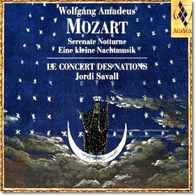 Jordi Savall 모차르트: 세레나타 노투르노, 아이네 클라이네 나흐트 무지크 (Mozart : Serenate Notturne, Eine Kleine Nachtmusik) 조르디 사발