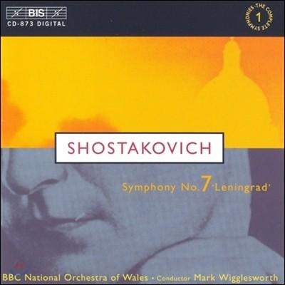Mark Wigglesworth 쇼스타코비치: 교향곡 7번 (Shostakovich: Symphony No. 7 in C major, Op. 60 'Leningrad')