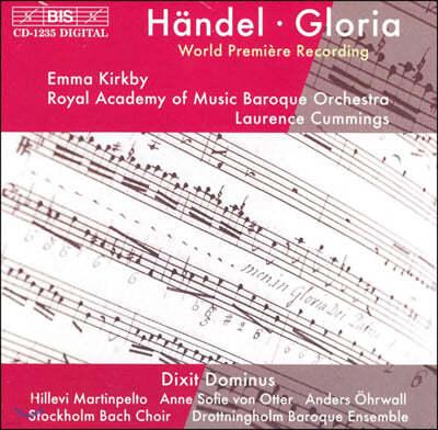 Laurence Cummings 헨델: 글로리아, 딕스트 도미누스 (Handel: Gloria, Dixit Dominus)