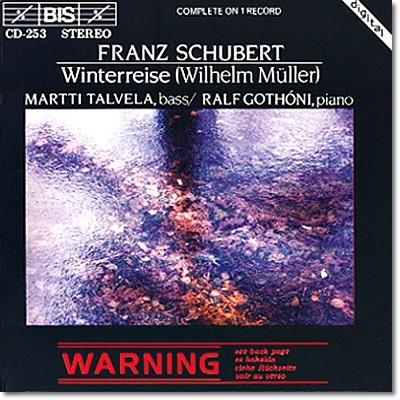 Martti Talvela 슈베르트: 겨울나그네 (Schubert: Winterreise D.911)