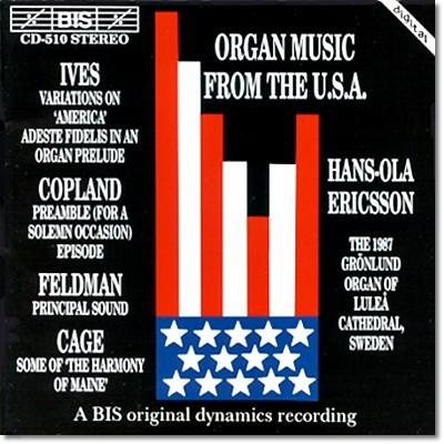 미국의 오르간 음악 : 아이브즈 / 코플랜드 / 펠드먼 / 게이지