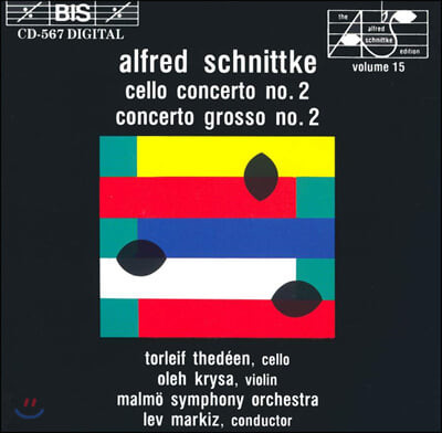 Torleif Thedeen 알프레드 쉬니트케: 첼로 협주곡 2번, 콘체르토 그로소 2번 (Alfred Schnittke: Cello Concerto No. 2, Concerto grosso No. 2)