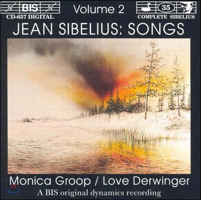 Monica Groop 시벨리우스: 가곡집 2권 (Sibelius: Songs, Vol. 2)