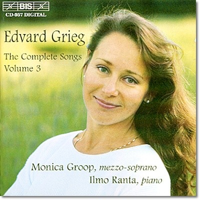 Monica Groop 그리그: 가곡 3집 (Grieg: Songs Vol. 3)