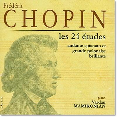 프레데리크 프란치셰크 쇼팽 : 연습곡 OP.10, OP.25