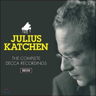 Julius Katchen 줄리어스 카첸 데카 녹음 전곡집 (The Complete Decca Recordings)