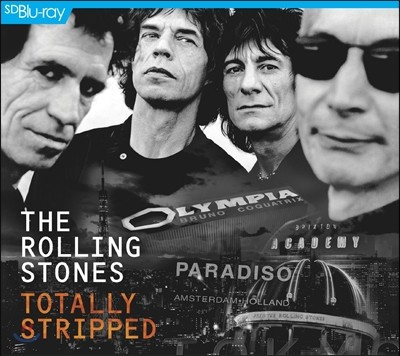 The Rolling Stones (더 롤링 스톤즈) - Totally Stripped [Blu-ray+CD Edition]