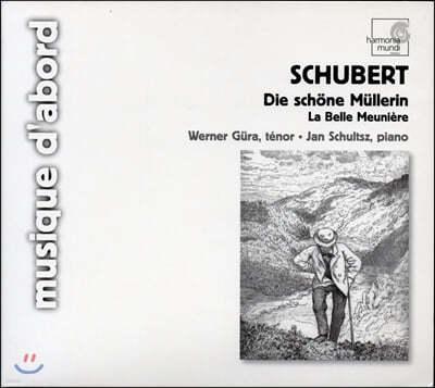 Werner Gura 슈베르트: 물방앗간의 아가씨 - 베르너 귀라 (Schubert: Die schone Mullerin, D795)