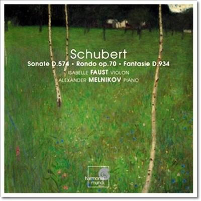 Isabelle Faust 슈베르트: 바이올린 소나타 - 이자벨 파우스트 (Schubert: Sonate D.574, Rondon D.895 Op.70, Fantasie D.934)