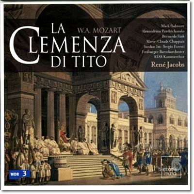 임선혜 / Rene Jacobs 모차르트  티토 왕의 자비 (Mozart: La clemenza di Tito, K621) 르네 야콥스, 베르다르다 핑크, 마크 패더모어