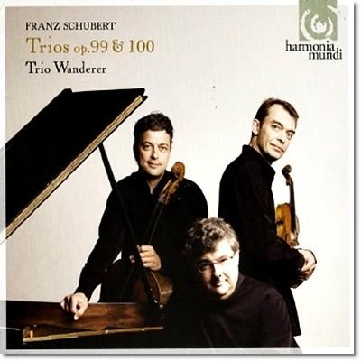 Trio Wanderer 슈베르트: 트리오 1번 2번 (Schubert: Piano Trio Op.99 D898, Op.100, D929) 트리오 반더러