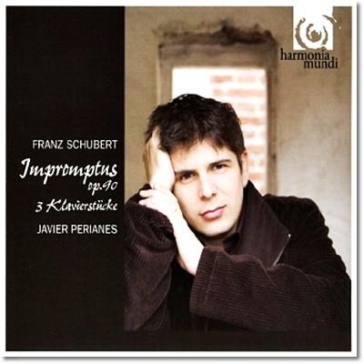 Javier Perianes 슈베르트 : 4개의 즉흥곡 OP.90 D.899, 3개의 피아노 소품 D.946