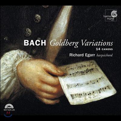 Richard Egarr 바흐: 골드베르크 변주곡, 14개의 골드베르크 캐논 [하프시코드 연주반]