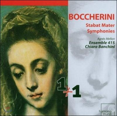Chiara Banchini 보케리니: 스타바트 마테르, 교향곡 - 앙상블 415, 키아라 반키니 (Boccherini: Stabat Mater, Symphonies)