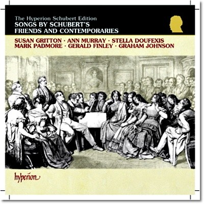 슈베르트의 친구들과 동시대의 음악인들 : 하이든 / 바이글 / 훔멜 / 로시니 / 슈만 / 리스트 (Songs By Schubert`s Friends And Contemporaries : Haydn / Weigl / Hummel / Rossini / Schumann / Liszt)