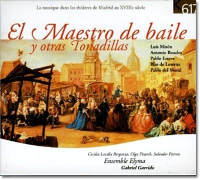 엘 마에스트로 드 바일레 와 그외 작곡가들 (El Maestro De Baile Y Otras Tonadillas)