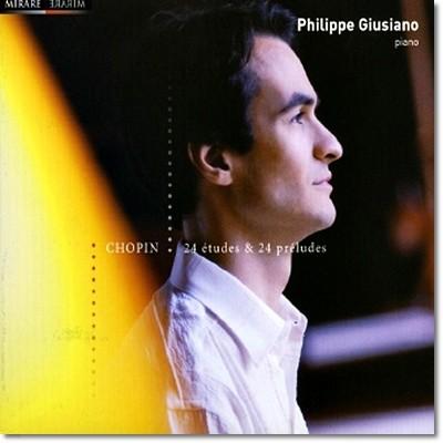 Philippe Giusiano 쇼팽 : 24개의 연습곡, 24개의 전주곡 (Chopin: 24 Etudes, 24 Preludes)