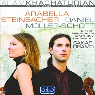 Daniel Muller-schott 아람 하차투리안: 바이올린 협주곡, 첼로 협주곡 (Aram Khachaturian: Cello Concerto, Violin Concerto)