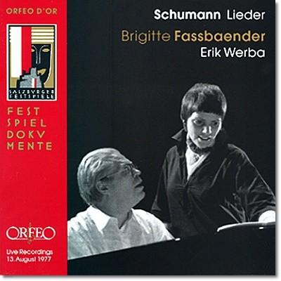 Brigitte Fassbaender 슈만: 가곡집 (Schumann: Lieder)