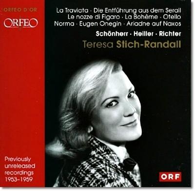 테레사 슈타히-란달 : 오페라 아리아집