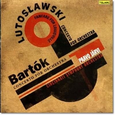 Paavo Jarvi 루토슬라브스키: 루이스벨리를 위한 팡파레 / 바르톡: 관현악을 위한 협주곡 (Bartok / Lutoslawki: Concertos for Orchestra)