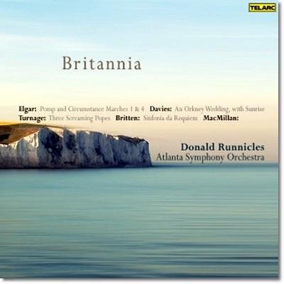Donald Runnicles 엘가: 위풍당당 행진곡 4번 / 제임스 맥밀란: 브리타니아 / 브리튼: 신포니아 레퀴엠 (Rule Britannia)